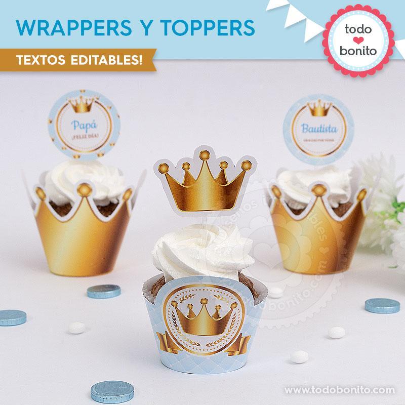 Wrappers y Toppers de Coronita