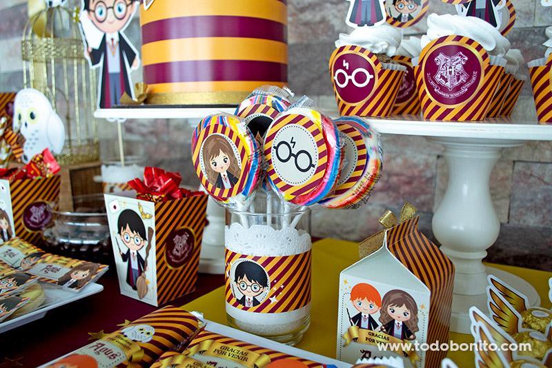 Decoraciones para imprimir Harry Potter por Todo Bonito