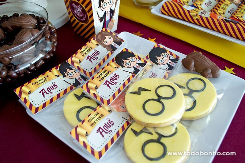 Galletas decoradas de Harry Potter por Todo Bonito