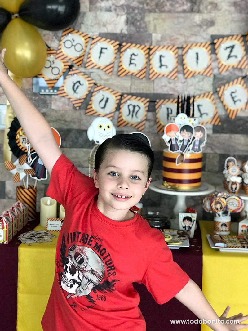 Cumpleaños lleno de magia con Harry Potter