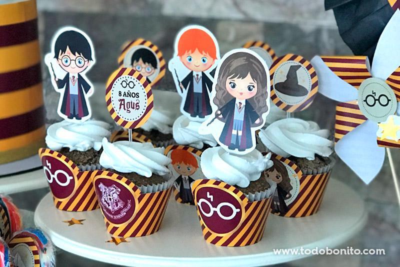 Cupcakes de Harry Potter por Todo Bonito
