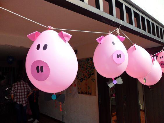 Hermosas ideas para una fiesta de chanchitos
