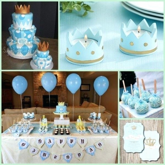 Ideas para una fiesta con coronas para niño