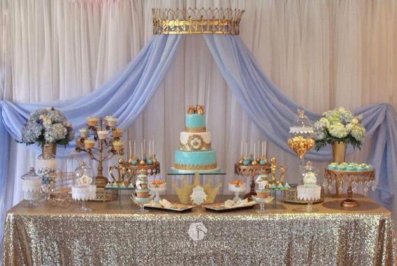 Mesa dulce corona niños