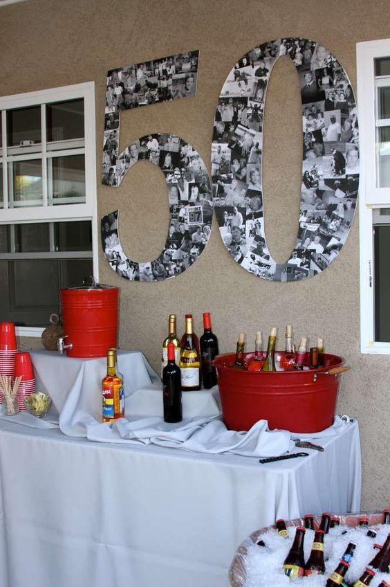 Ideas para cumpleaños: Números con fotos