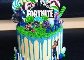 Las tortas más creativas de Fortnite