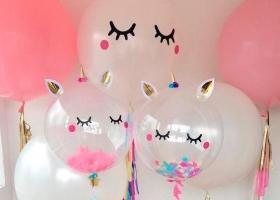 Globos gigantes decorados