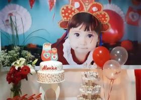 Matryoshkas para el primer añito de Alenka