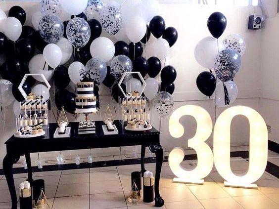 Decoraciones de cumpleaños para mujer adulta