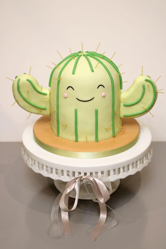 Torta de Cactus