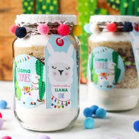 Souvenirs llama Cookies
