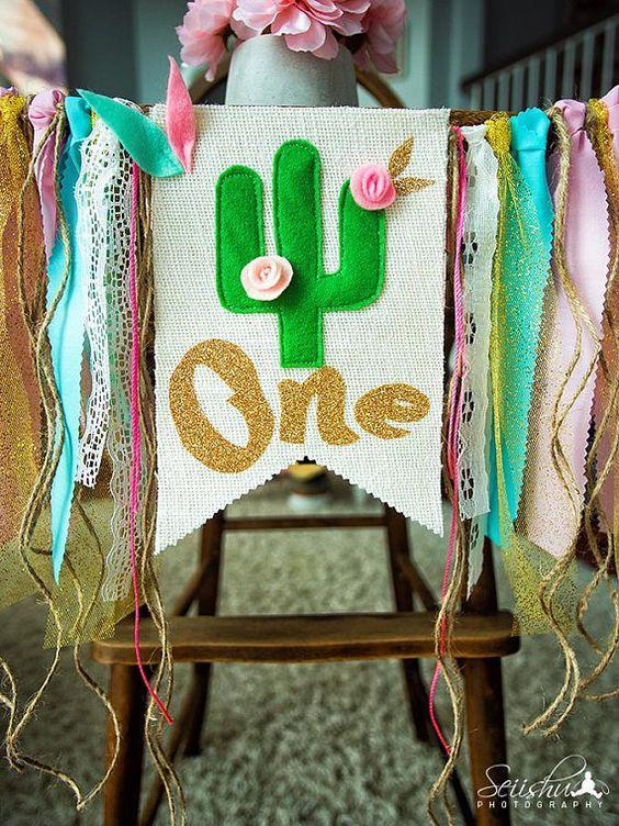 Ideas de decoración de cactus
