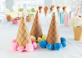 Ideas para una fiesta de helados