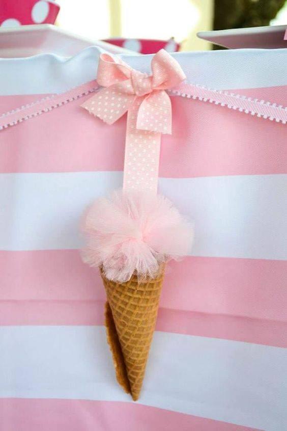 Ideas para decorar con fiesta de helados