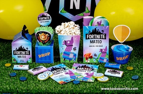 Las mejores ideas para una fiesta de Fortnite