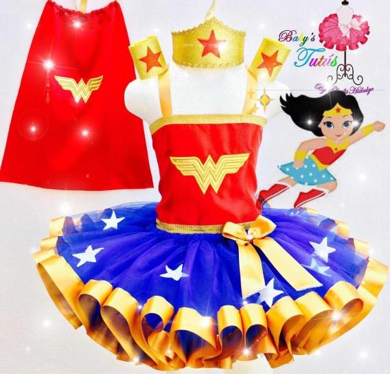 Vestido de Mujer Maravilla