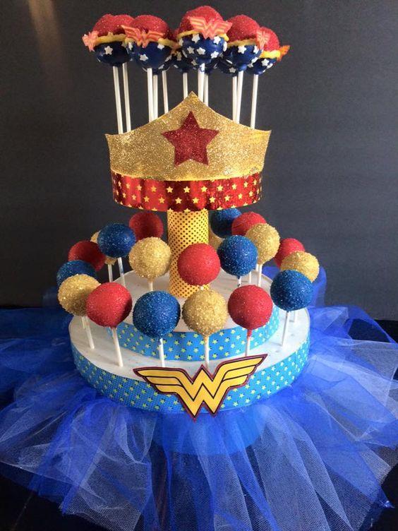 Cake posp de Mujer Maravilla
