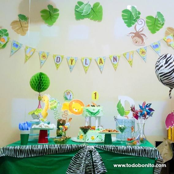 Ideas mesa cumpleaños de Selva