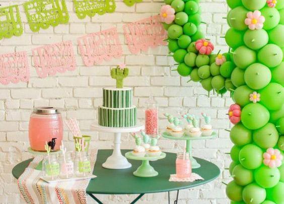 Ideas de fiestas con Cactus