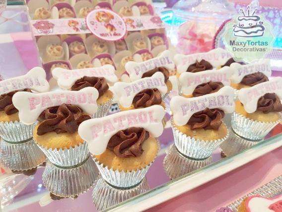 Cupcakes de Skye Paw Patrol