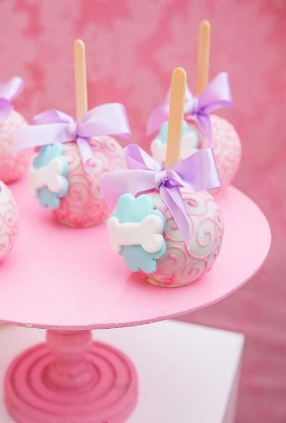 Cakepops de Skye de Paw Patrol