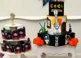 Ian y su cumpleaños inspirado en la película Coco