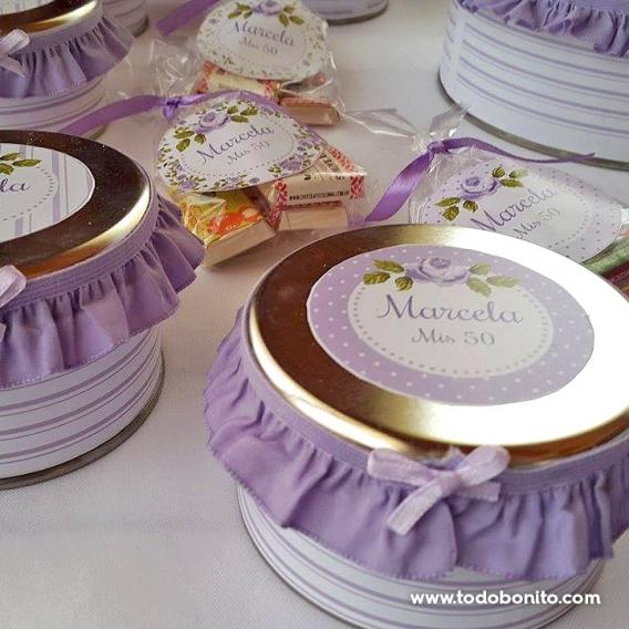 Ideas souvenirs para 50 años de mujer