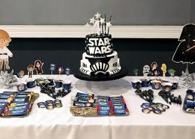 Lucas y su cumple de Star Wars