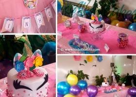Una fiesta de unicornios porAleemcakes