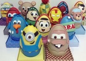 Huevos de Pascuas de personajes
