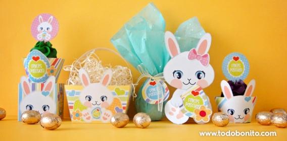 Kits Imprimibles de Pascuas por Todo Bonito