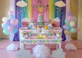 Ideas de fiestas de la temática de lluvia de amor