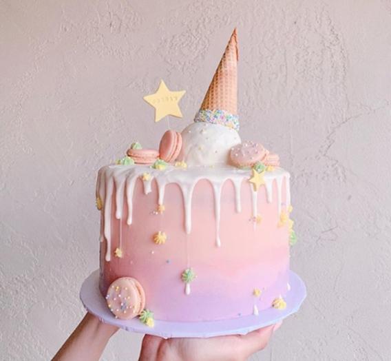 Torta fiesta de helados