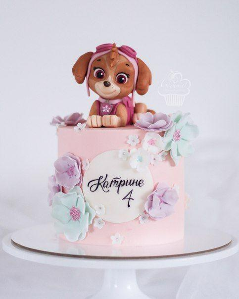 Torta de Skye para cumpleaños
