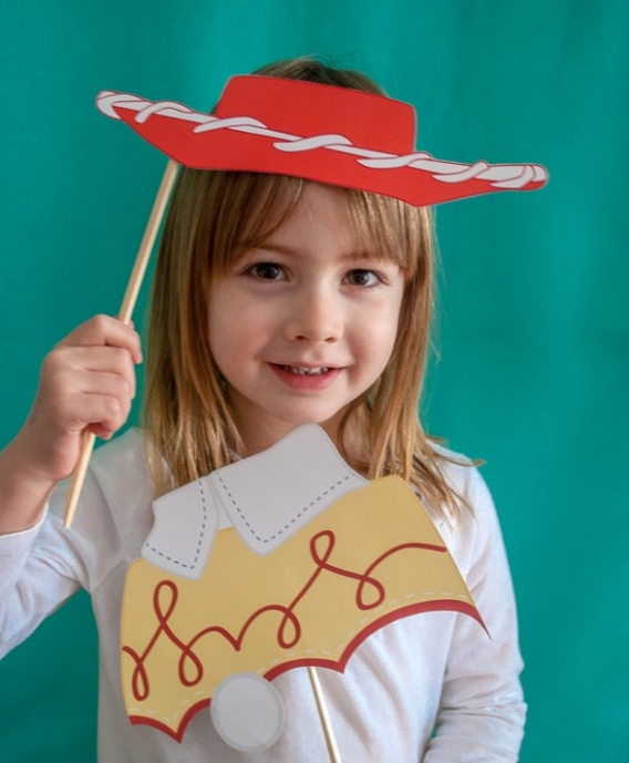 Photo booth para imprimir gratis de Toy Story