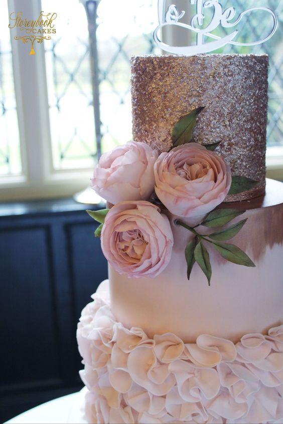Torta Rose Gold