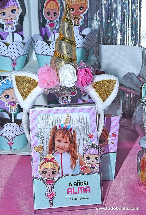 Souvenirs fiesta LOL Surprise