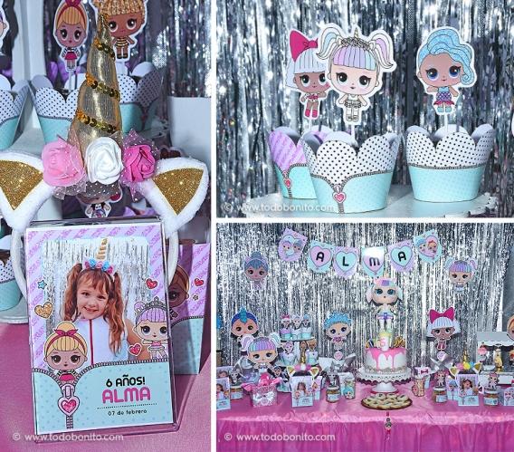 Un cumpleaños soñado con las muñequitas LOL