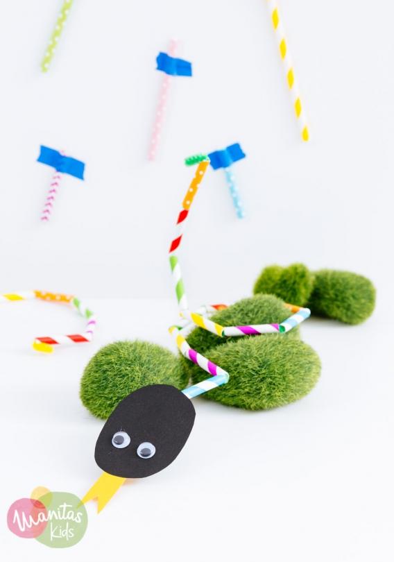 Creativas ideas de reciclaje con sorbetes de plástico