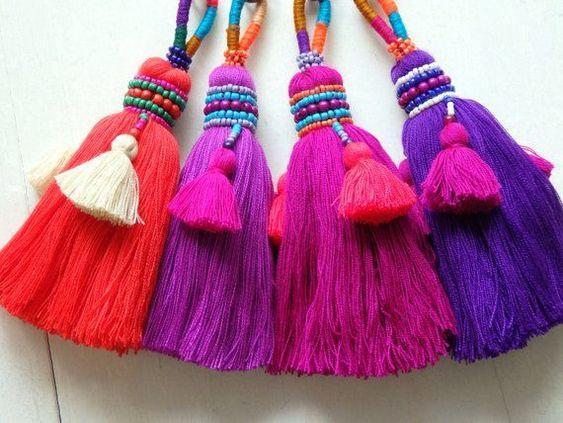 Borlas de lana para decorar