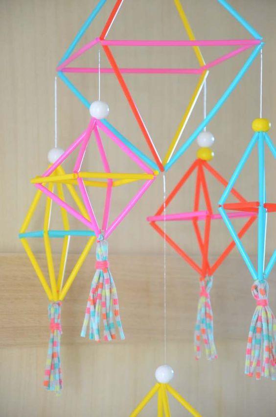 Creativas ideas de reciclaje con sorbetes