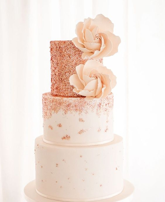 """Tortas """"Rose Gold"""""""
