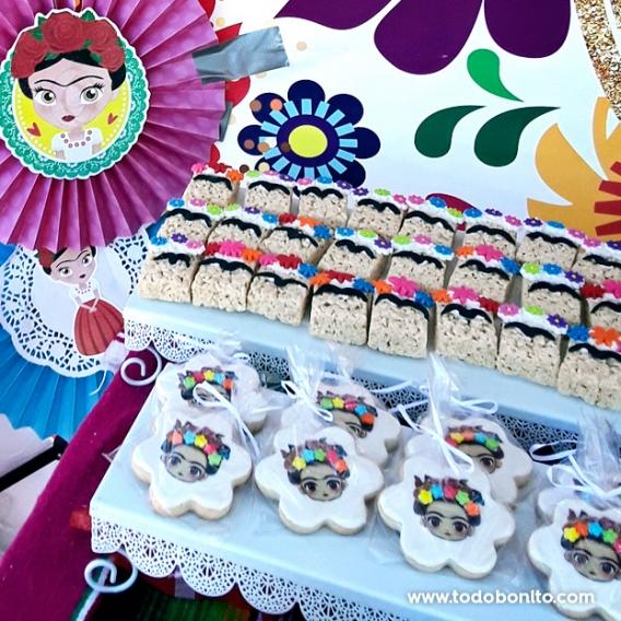 Galletas de Frida Kahlo