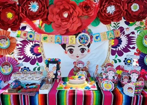 Fiesta de graduación con Frida Kahlo