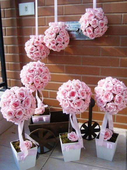 Ideas para decorar con flores de papel