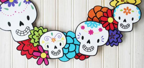 Creativas ideas con calaveras para decorar tu evento