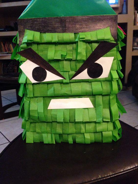 Piñata de Hulk