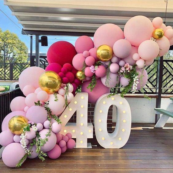 Ideas de Photocall con globos