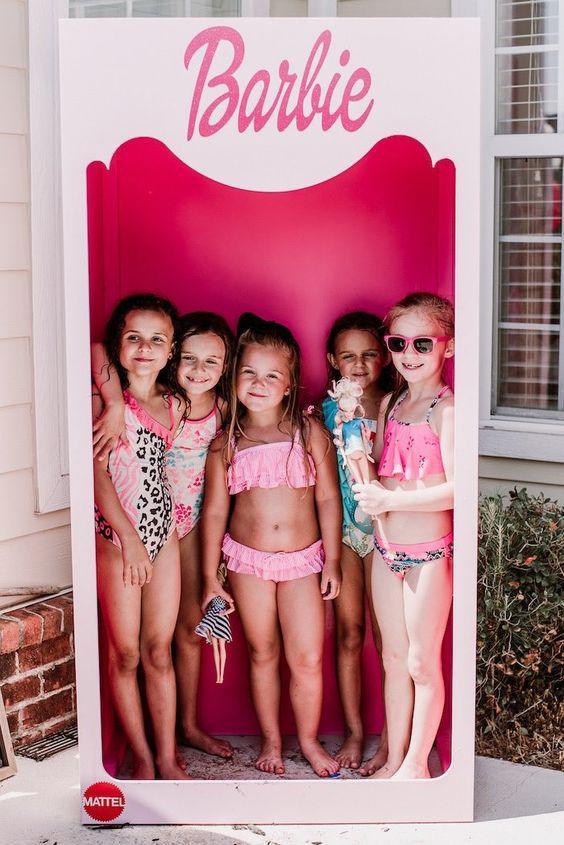 Ideas de Photocall de Barbie