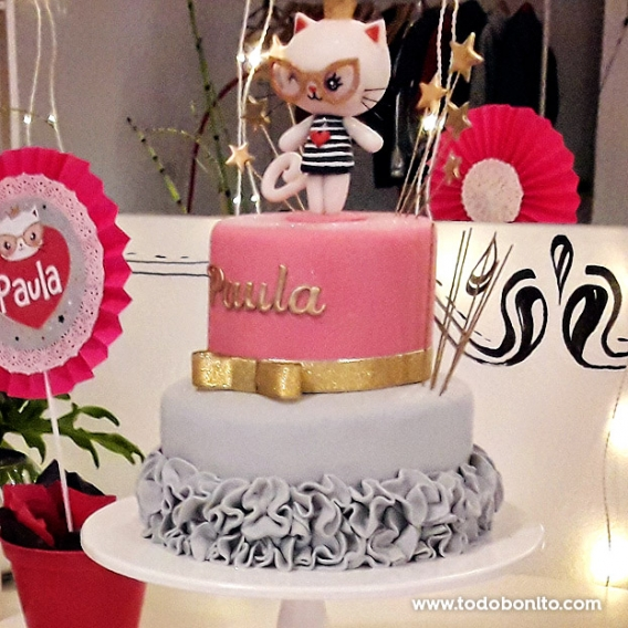 Torta deGatita princesa cool